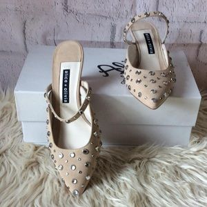 """ALICE WOMEN""""S SHOES,NUDE COLOR, SIZE 7, gi11"""